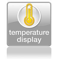 Определяет температуру