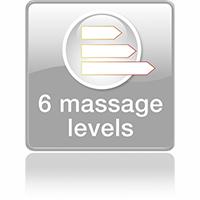 6 автоматических программ массажа
