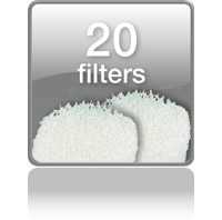 20 запасных фильтров