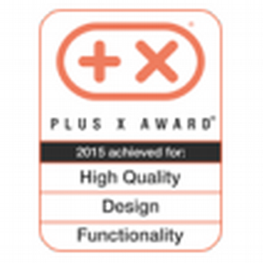 Награда Plus X за высокое качество, дизайн и функциональность