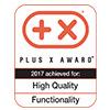 Награда премии Plus X Award за высокое качество и функциональность