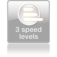 3 уровня интенсивности