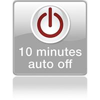 Автовыключение через 10 минут