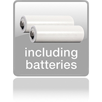 Работает через 3 батареи