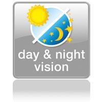 Видимость днем и ночью