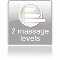 2 уровня скорости массажа