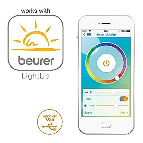 Приложение Beurer LightUp