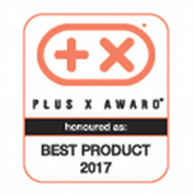 Награда премии Plus X Award как лучшему продукту 2017 года