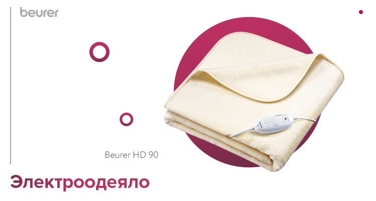 Электроодеяло Beurer HD 90