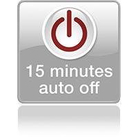 Автовыключение через 15 минут