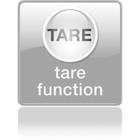Функция «Взвешивание с использованием тары»