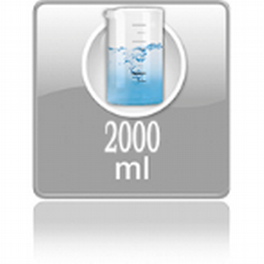 Вместимость резервуара с водой 2 л