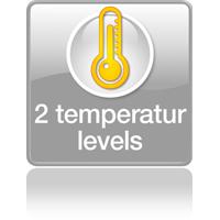 2 уровня температуры